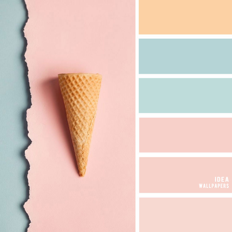 19 The Perfect Pink Color Combinations { Blush + light blue + Taupe Sand }