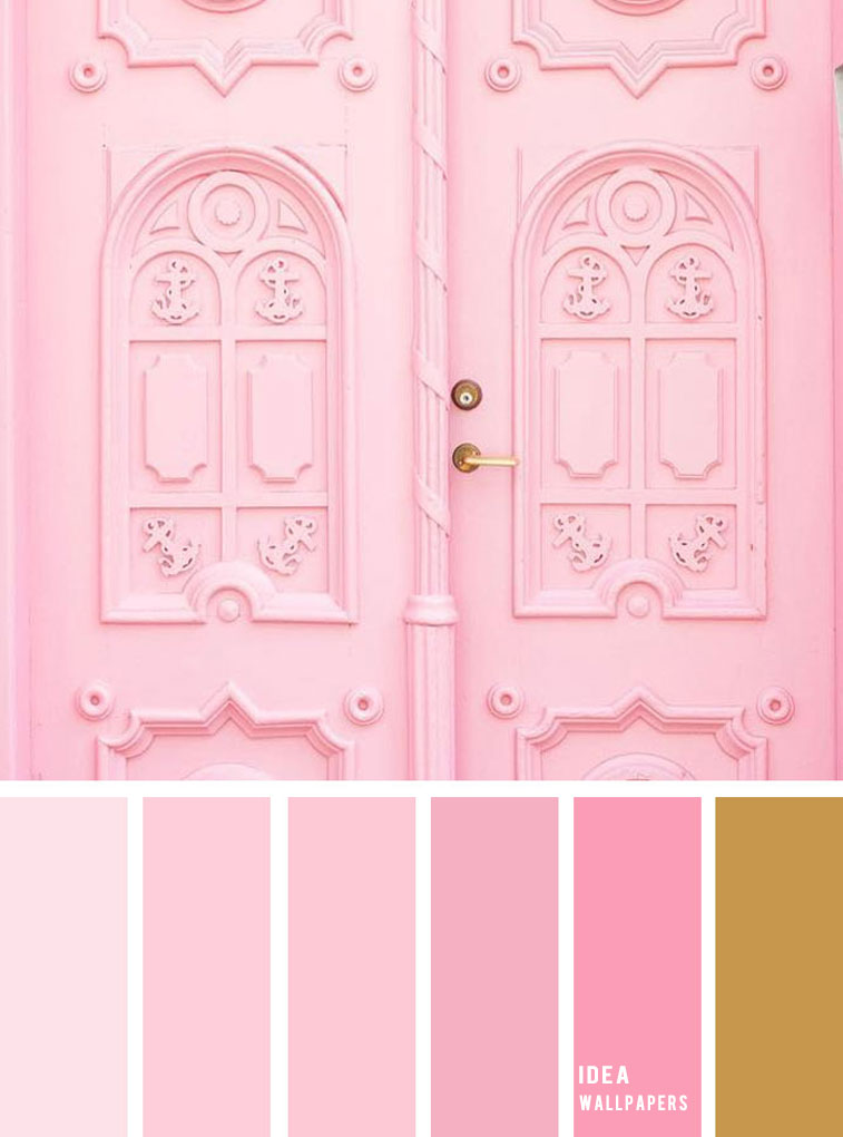 19 The Perfect Pink Color Combinations { Blush Pink and Gold }