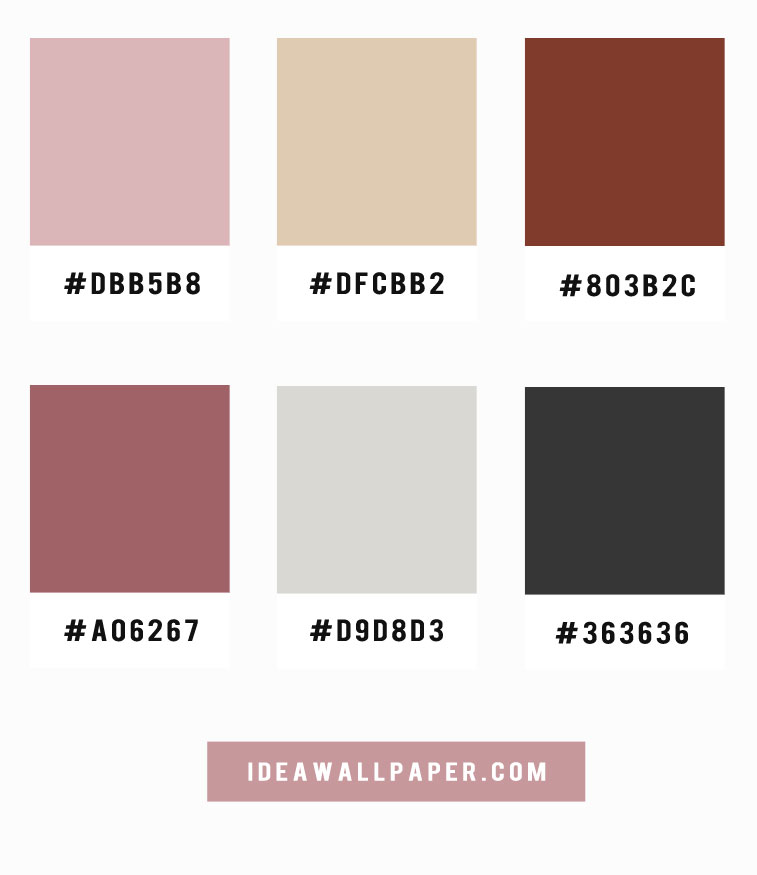 Muave hues color palette inspiration