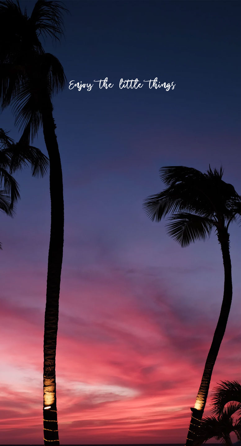 Beautiful sunset sky iPhone wallpaper