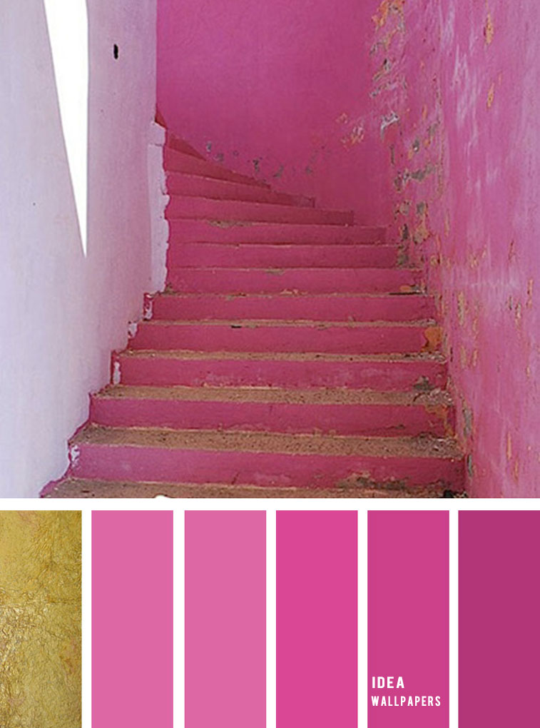 19 The Perfect Pink Color Combinations { Perisian pink + China pink + Super pink & Gold }