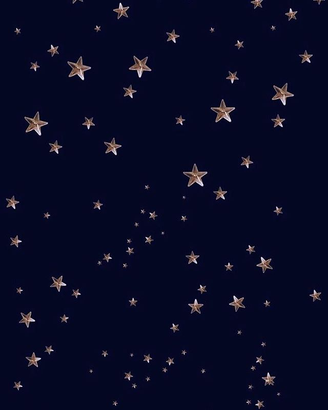Gold Stars On Dark Blue Background Idea Wallpapers