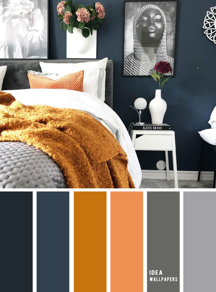 10 Best Color Schemes for Your Bedroom { Navy Blue ...