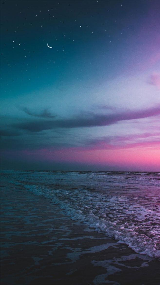 Beautiful sky iPhone wallpaper