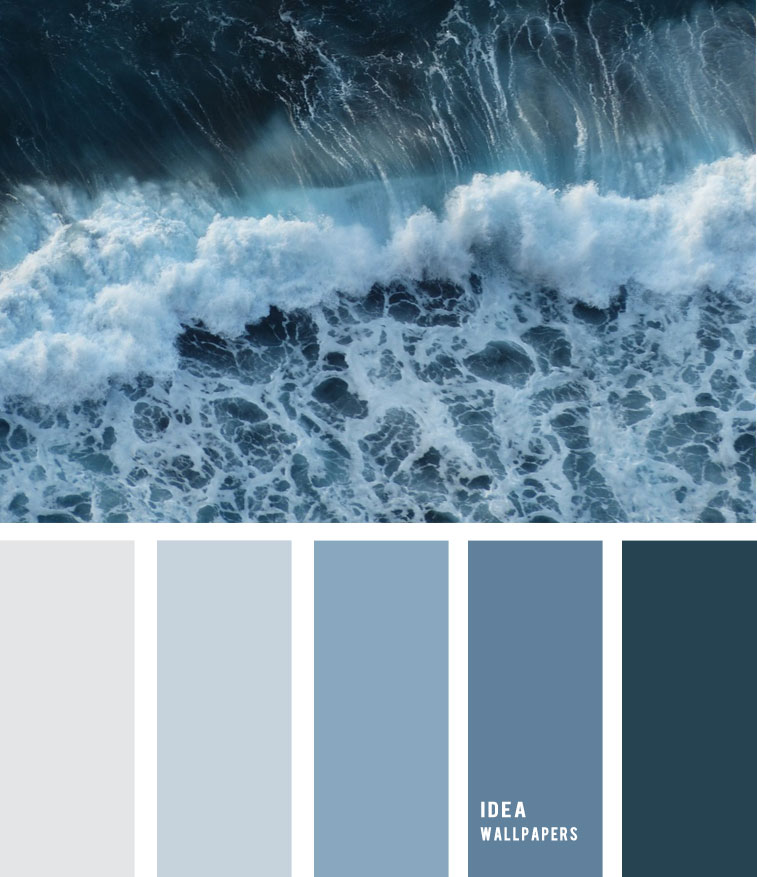 Sea foam and blue grey color palette 19052210