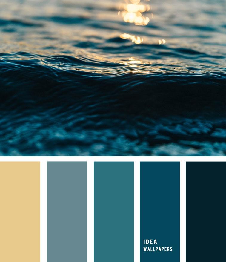 Deep Blue Sea Color Palette 19052211