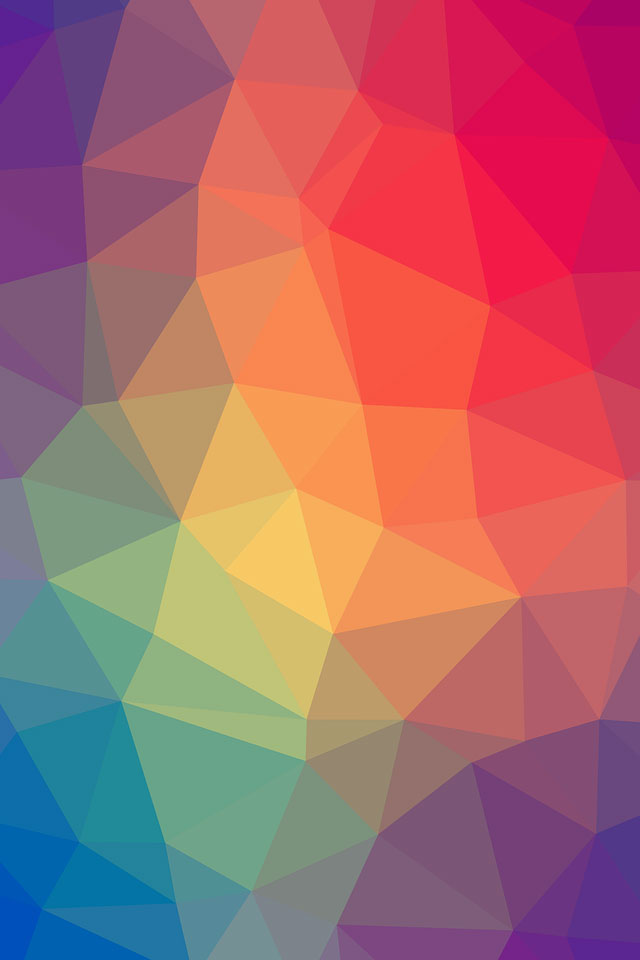 Colorful Geometric iPhone Wallpaper