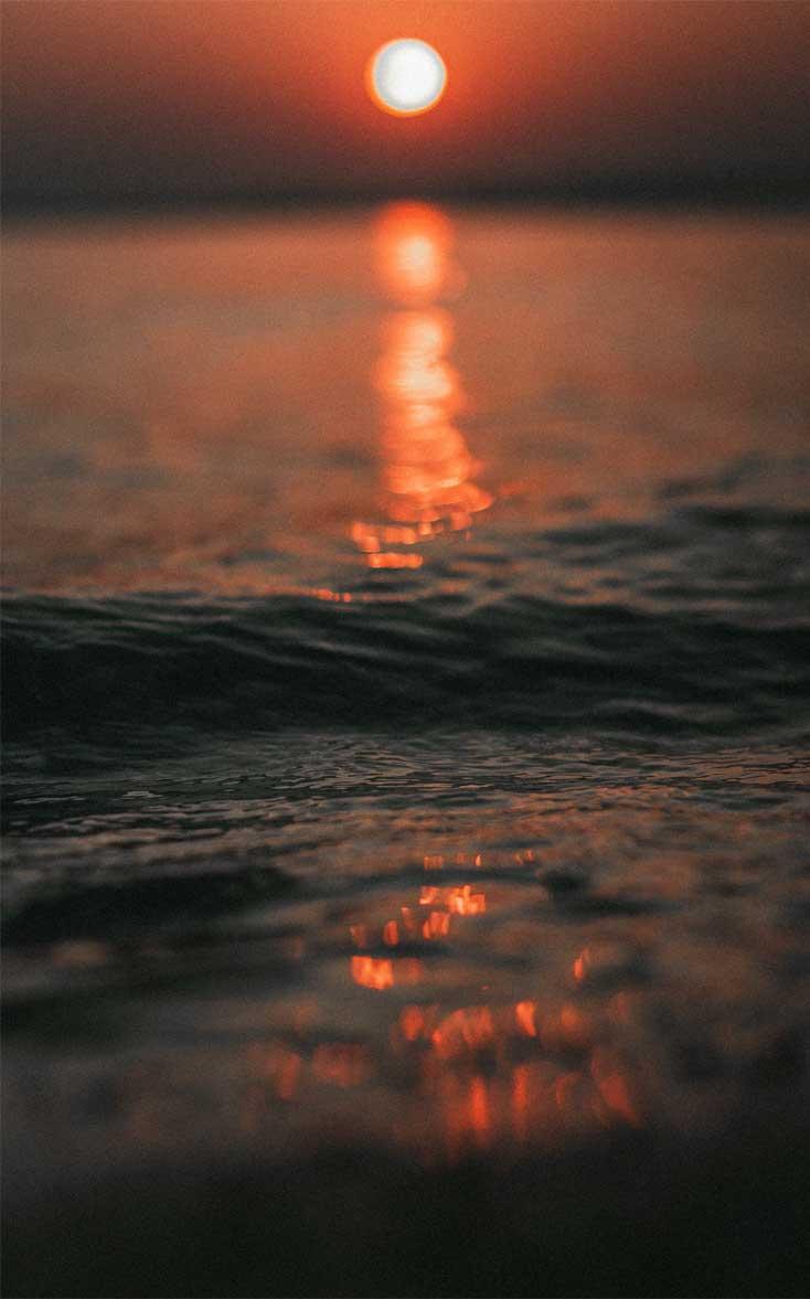 Sunset At The Beach Iphone Wallpaper Idea Wallpapers Iphone Wallpapers Color Schemes