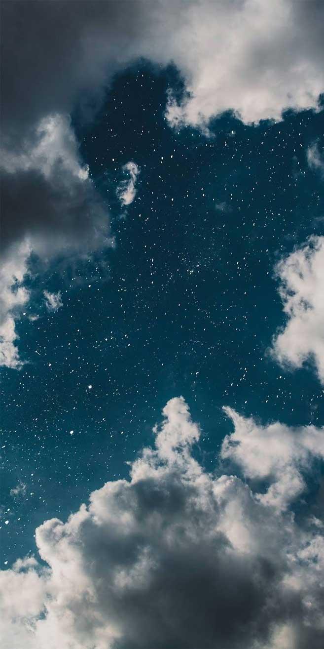 Dreamy Blue sky full of stars!