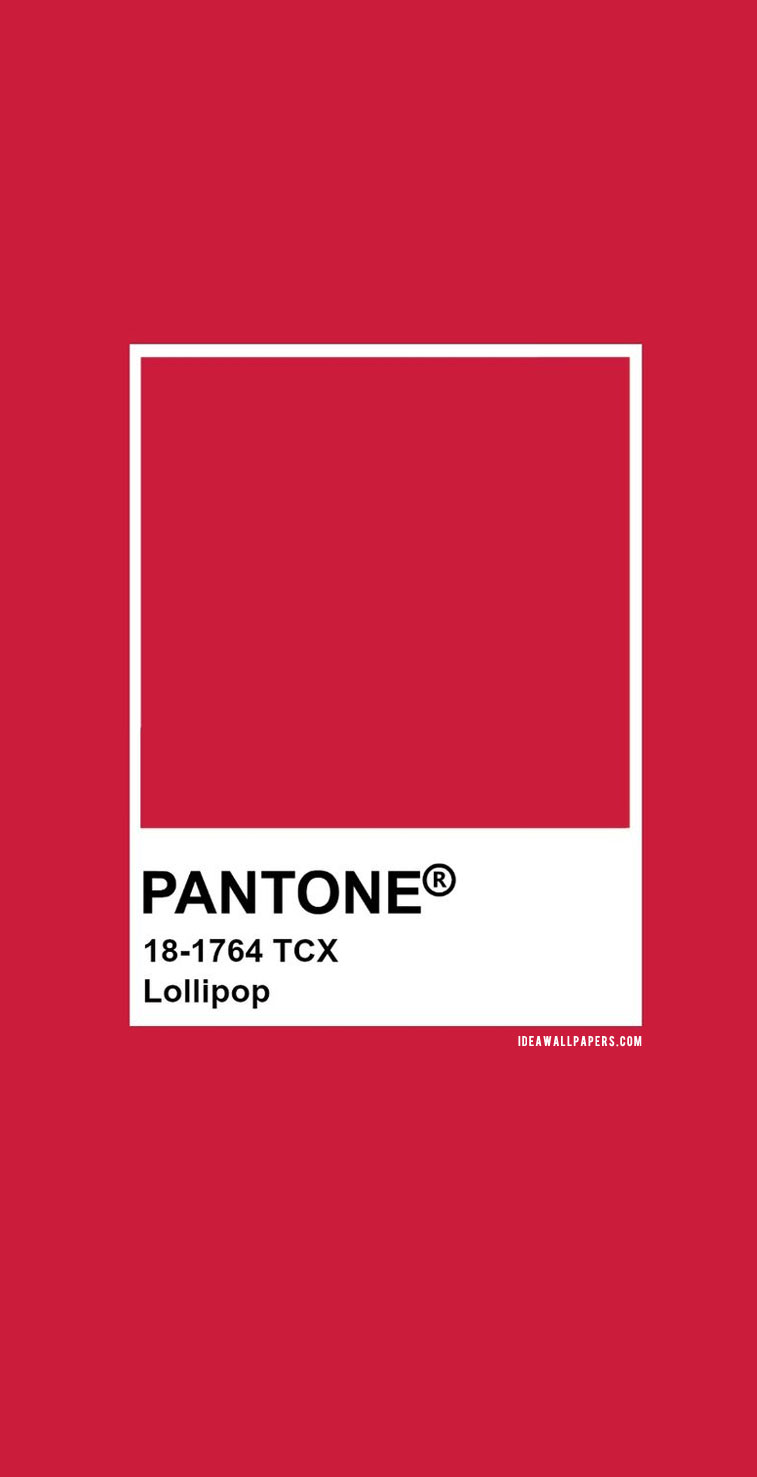 Pantone Lollipop : Pantone 18-1764