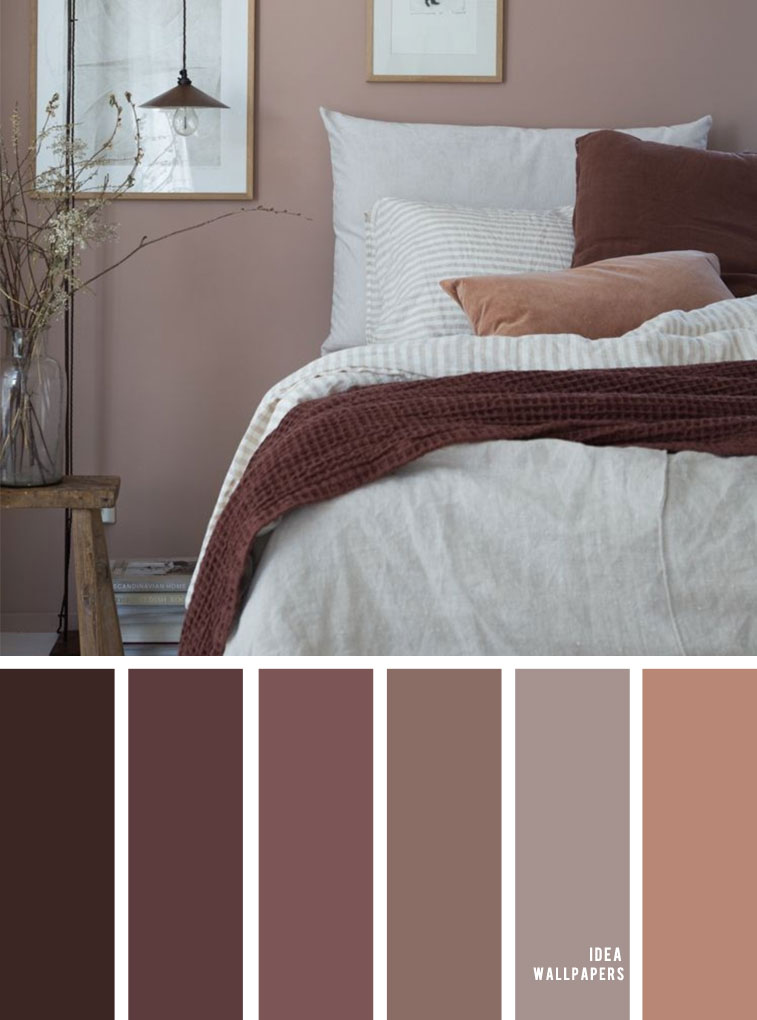 25 Beautiful Color Schemes For Your Bedroom – Earth Tones