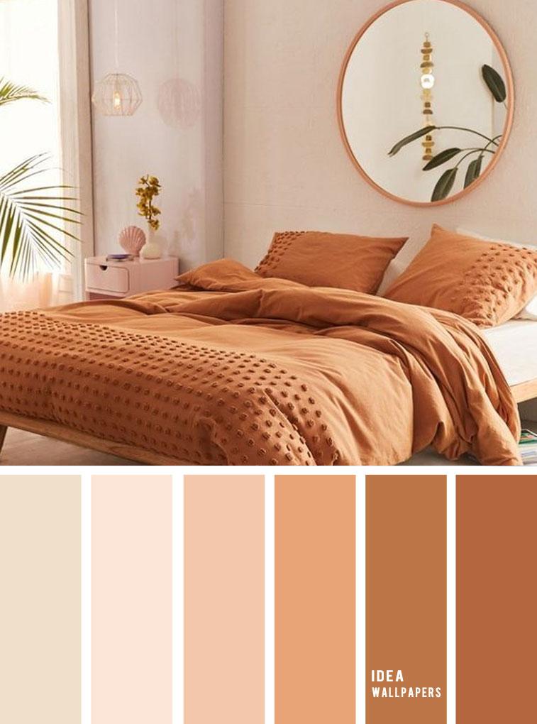 25 Best Color Schemes for Your Bedroom { Terracotta Earthy Tones }