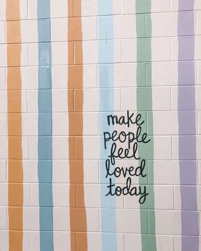 Rainbow wall paint