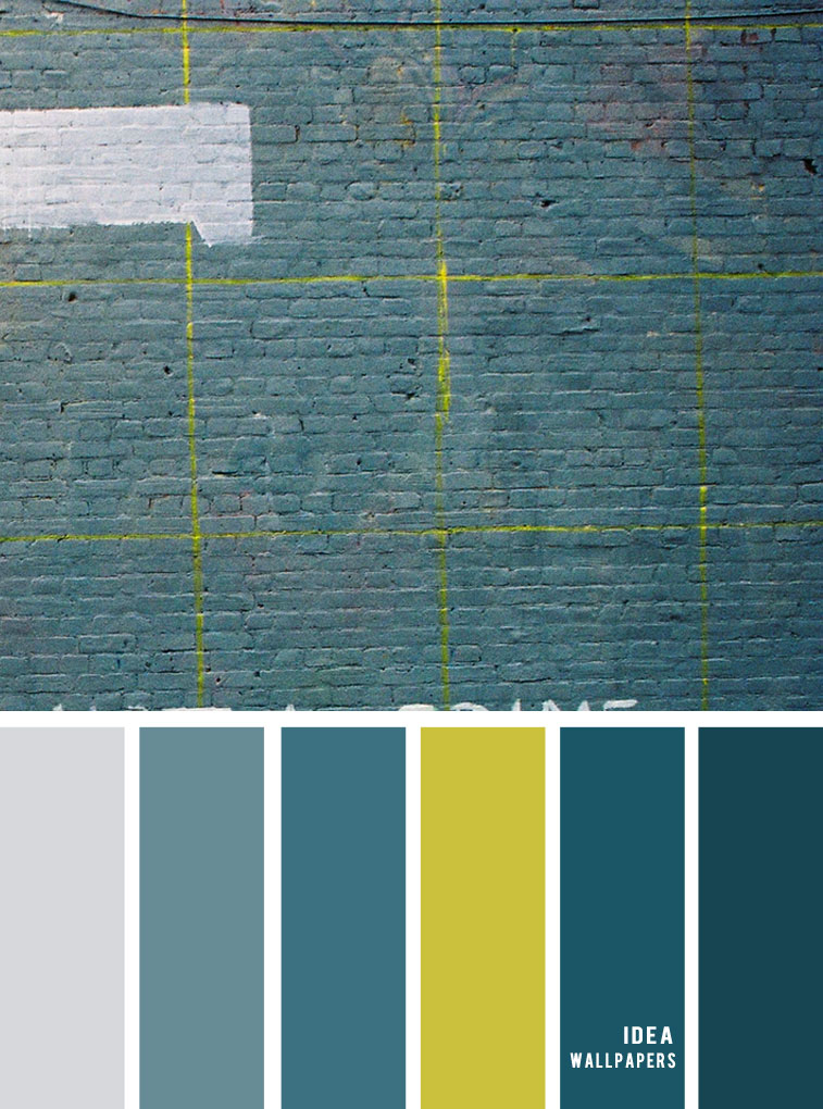 12 Beautiful Blue Teal Color Combos { Blue Teal and Yellow Color Palette }