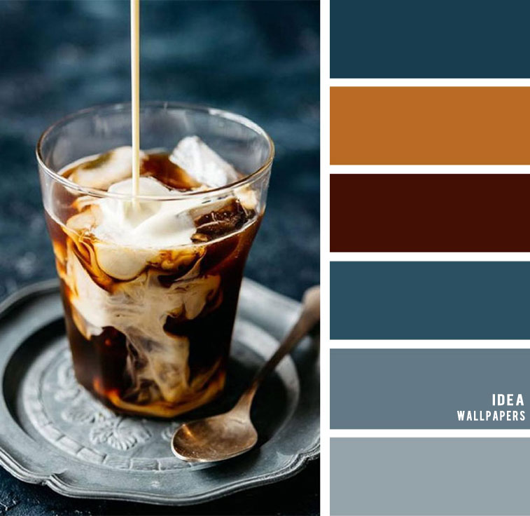 Blue and brown color combos