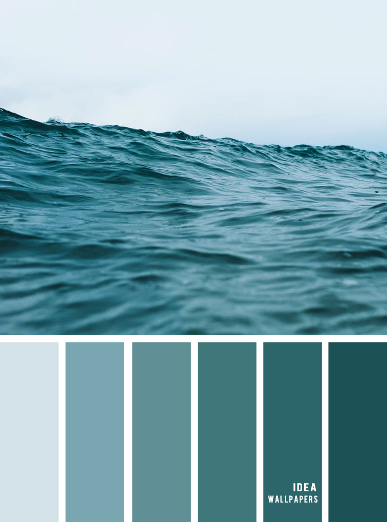 12 Beautiful Blue Teal Color Combos { Deep Green Sea Inspired }