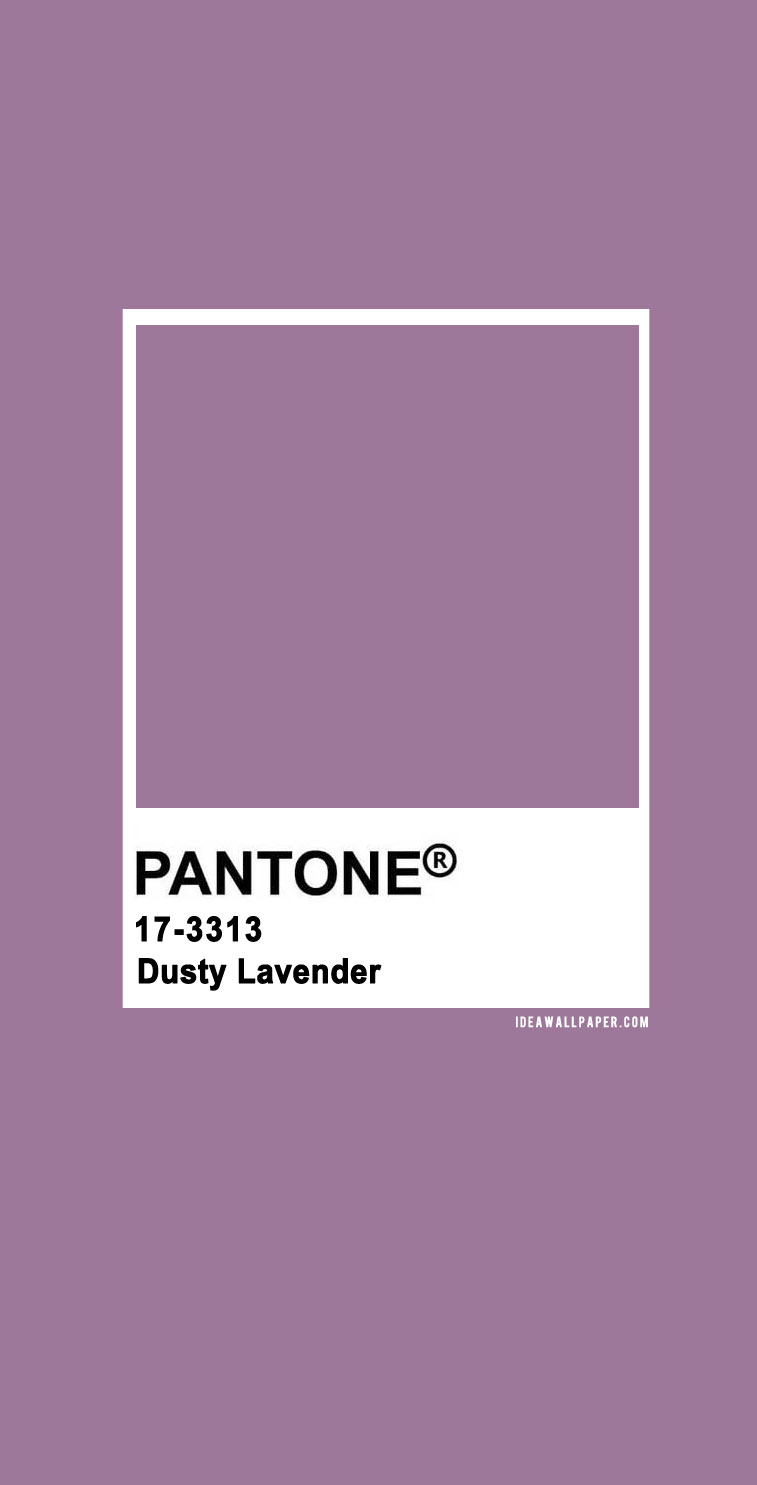 60 Pantone Color Palettes : Pantone Dusty Lavender 17-3313