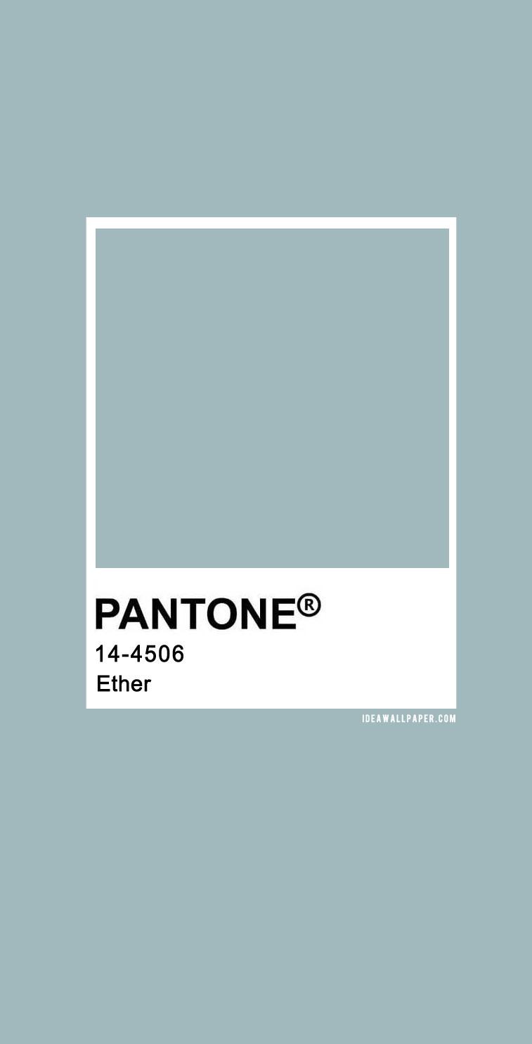 60 Pantone Color Palettes : Pantone 14-4506 Ether