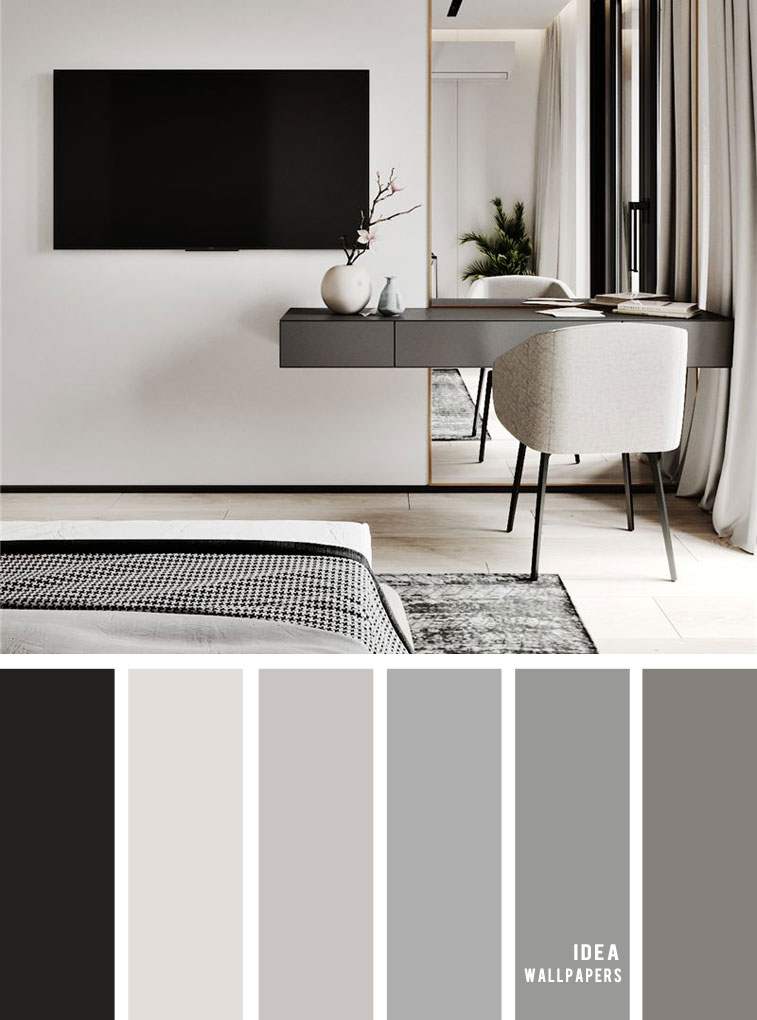 11 Gorgeous Bedroom In Grey Hues