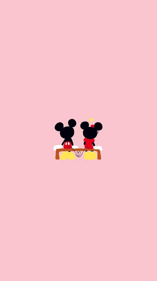 Micky Mouse – cute iphone wallpaper