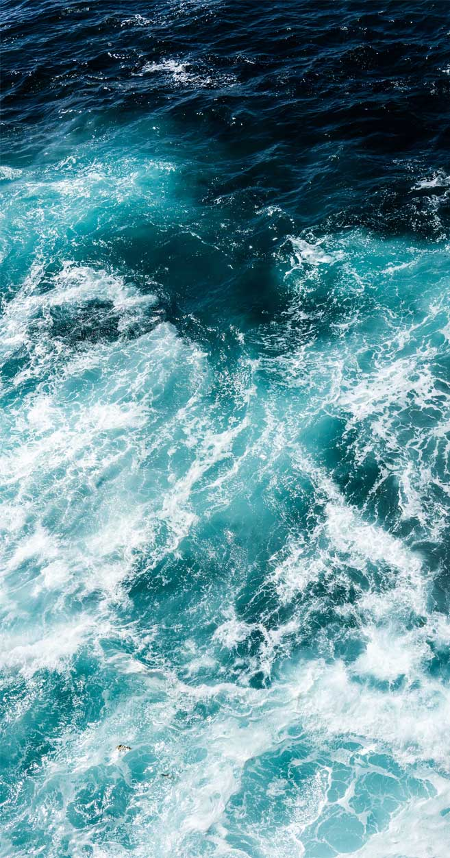 Mystery emerald ocean
