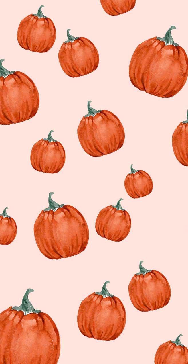 Pretty autumn watercolor
