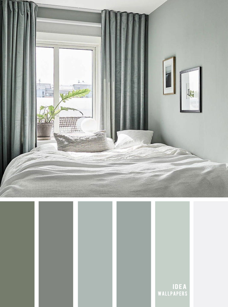 25 Best Color Schemes for Your Bedroom { Sage color scheme for bedroom }