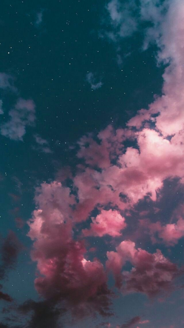 15 Beautiful wonder of the sky for iPhone wallpaper –  Beautiful blue sky with pink cloud
