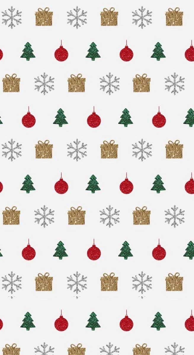 Christmas illustrations – Gold , red and green