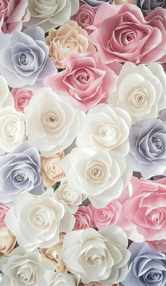 27 Pretty flower illustration iphone wallpaper – page 8