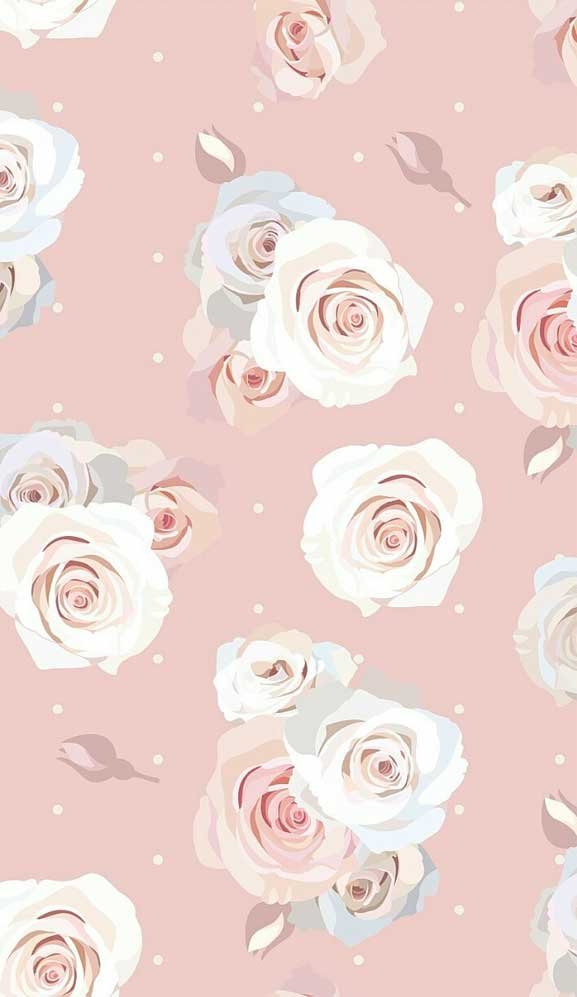 27 Pretty flower illustration iphone wallpaper – page 9
