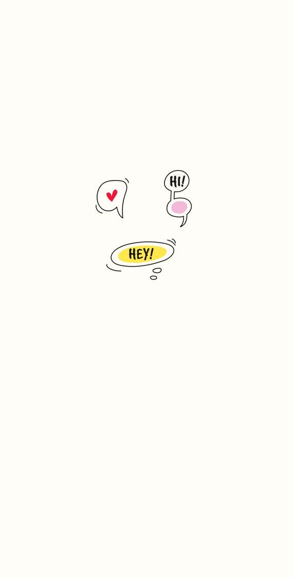 Cute hello iphone wallpaper 14
