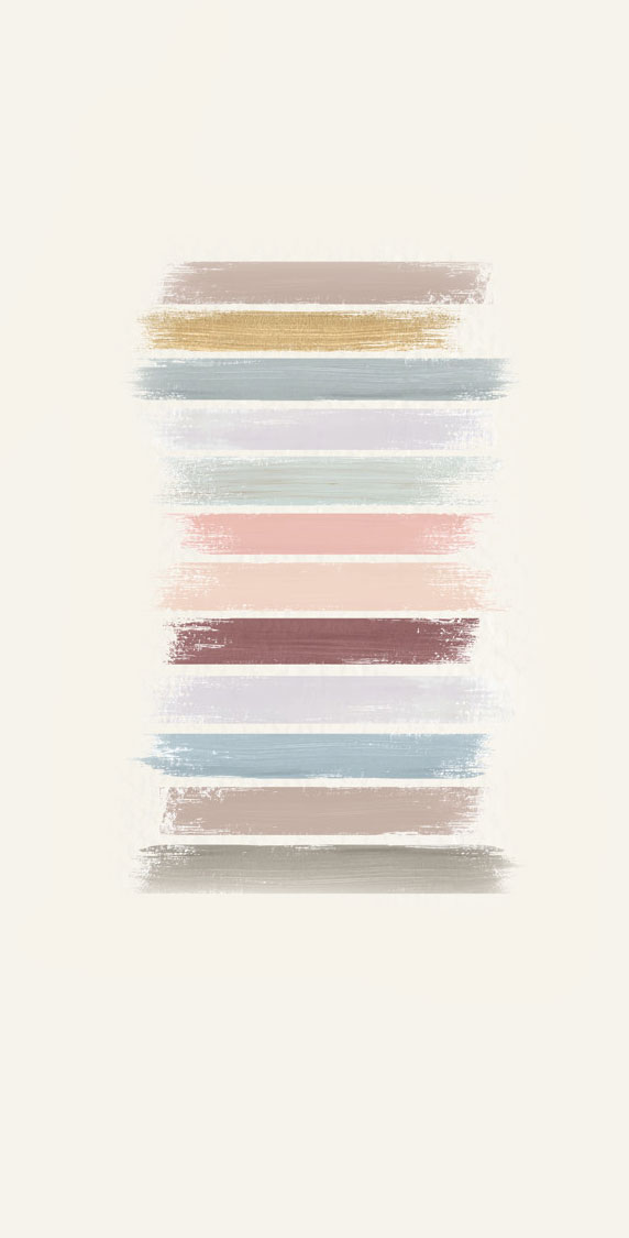 Ombre painted colors