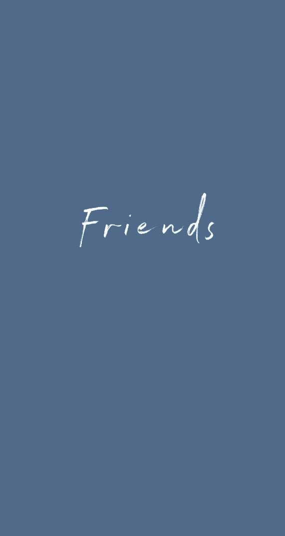 Friends iPhone wallpaper