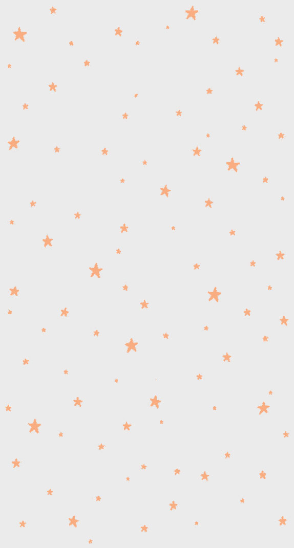 Orange stars iphone wallpaper