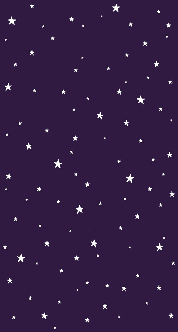 Stars on purple background
