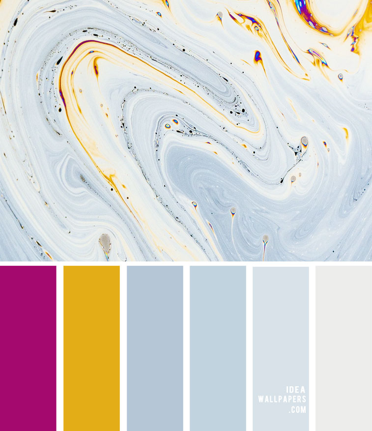 Color Palette 149  { Grey, magenta and mustard color scheme }
