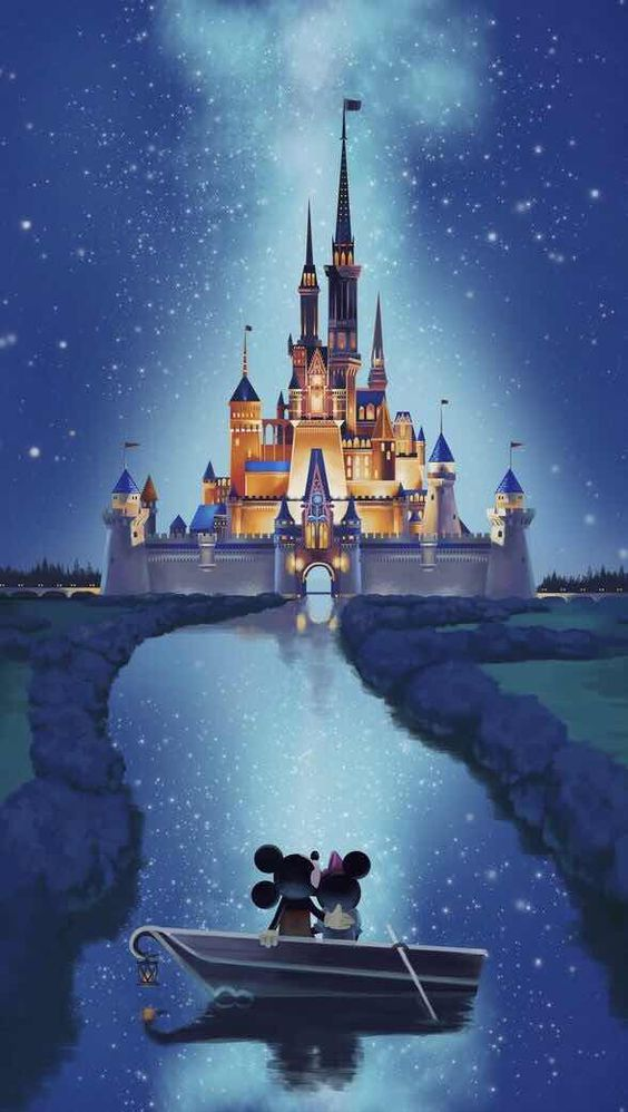 Disney Micky Mouse and Minnie iPhone wallpaper