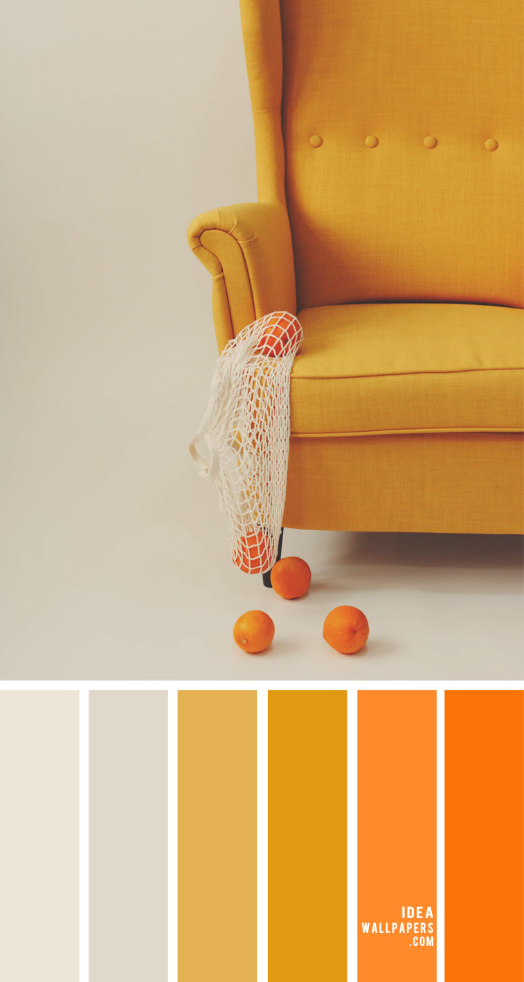 Mustard and orange color palette – Color Palette 151