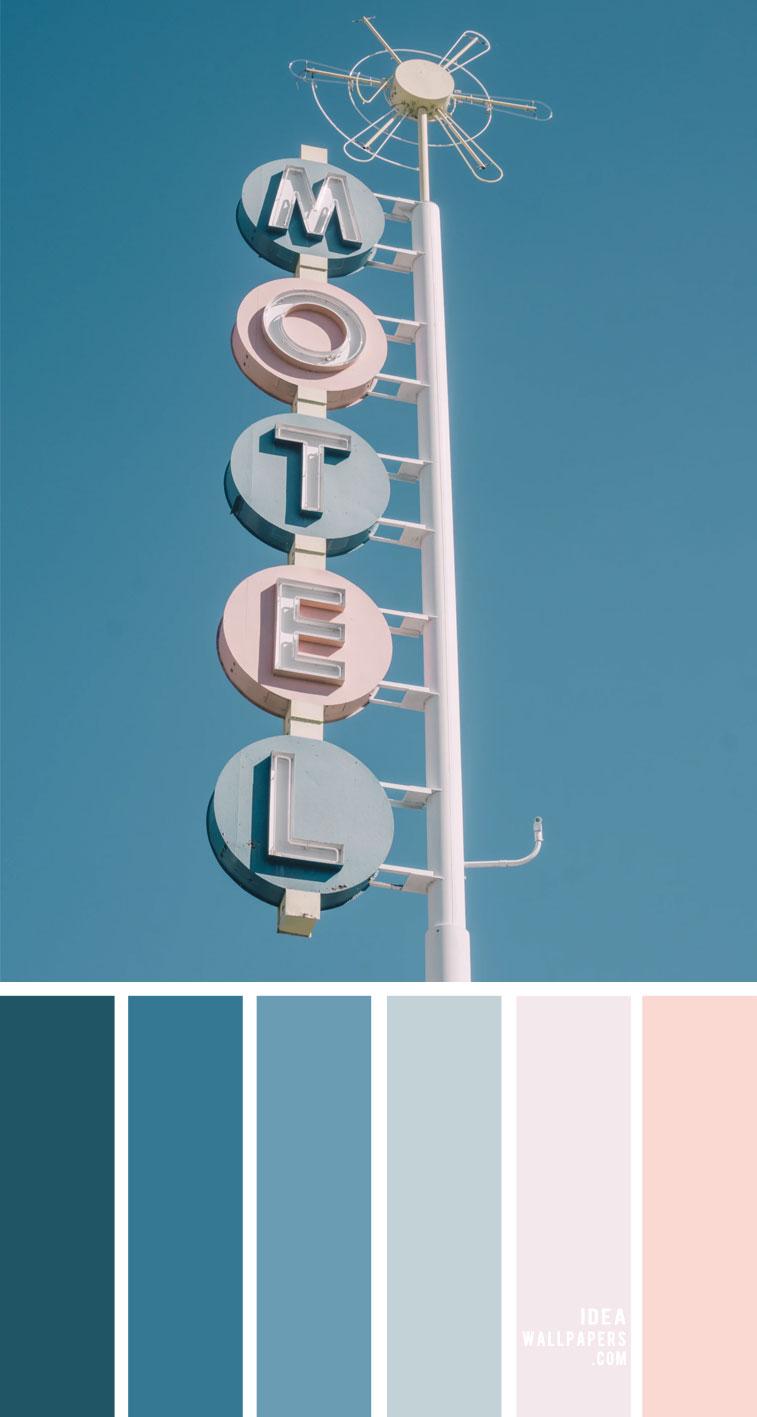 Blue teal and pastel color scheme – Color Palette 157